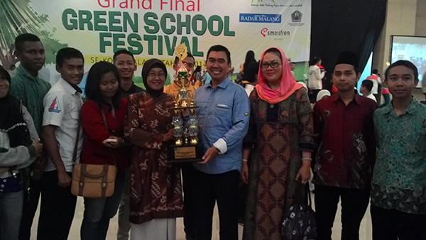 Juara GSF 2 (Green School Festival) 2014 Se Kota Malang