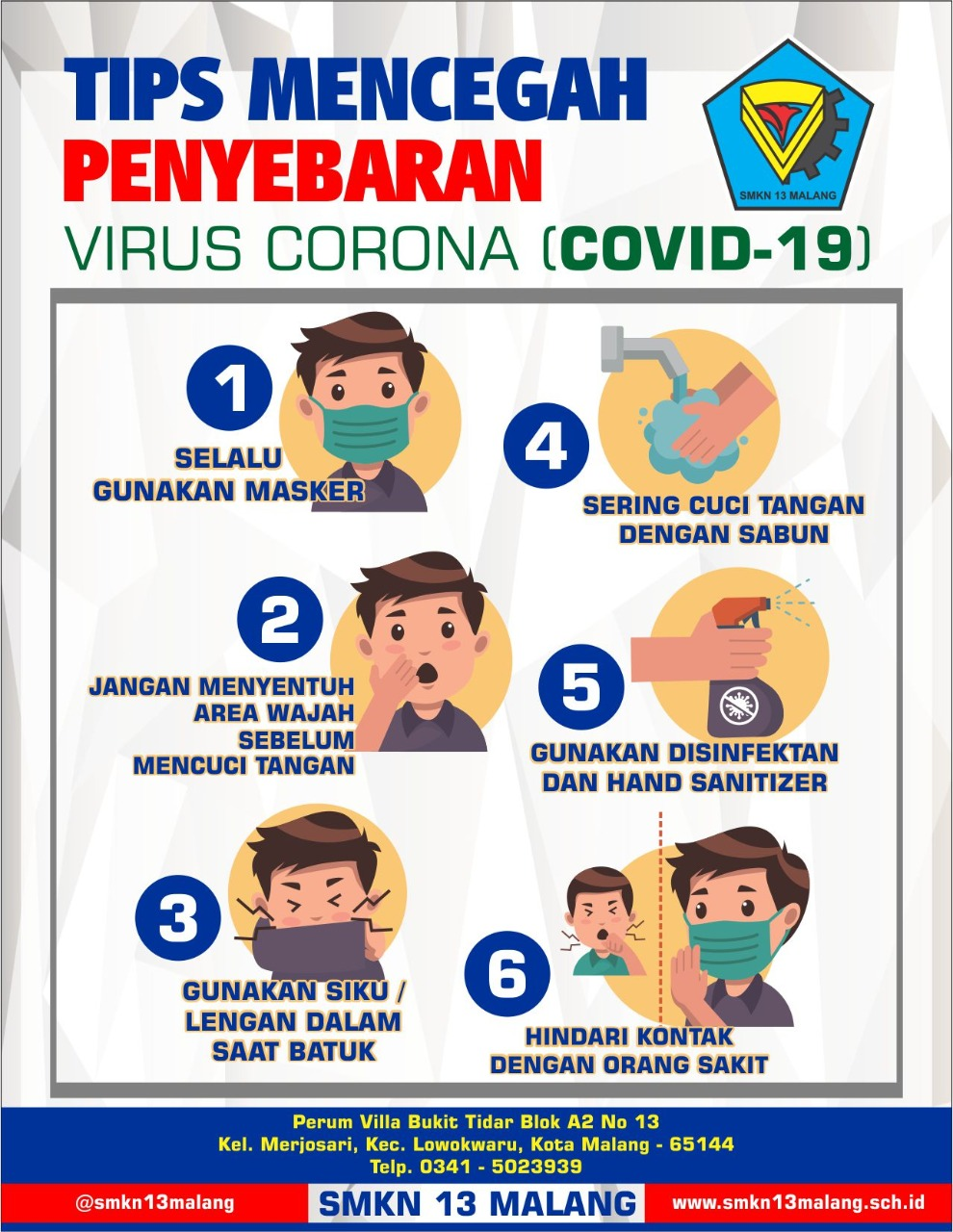 tips pencegahan virus corona